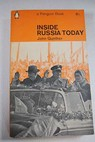 Inside Russia Today / John Gunther