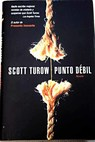 Punto débil / Scott Turow
