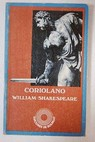 Coriolano / William Shakespeare
