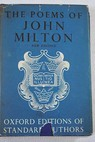 The complete poems of John Milton With introduction and notes / John Milton