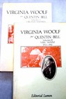 Virginia Woolf / Quentin Bell