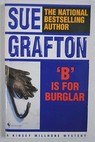 B is for Burglar / Sue Grafton