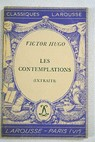 Les contemplations / Victor Hugo