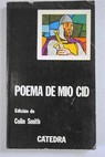 Poema de mío Cid / Colin Smith