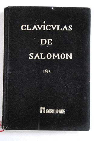 Claviculas de salomon eliphas levi for Conjuros de salomon
