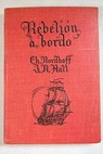 Rebelión a bordo / Nordhoff Charles Hall James Norman