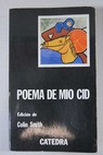 Poema del Mío Cid / Colin Smith