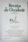 Revista de Occidente Pablo Ruiz Picasso Números 135 136