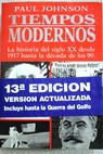 Tiempos modernos / Paul Johnson