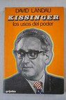 Kissinger / David Landau