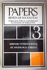 Papers Revista de sociología Núm 3