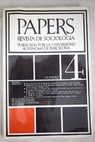 Papers Revista de sociología Núm 4
