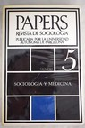 Papers Revista de sociología Núm 5