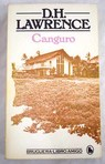 Canguro / D H Lawrence