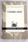 Cimbelino / William Shakespeare