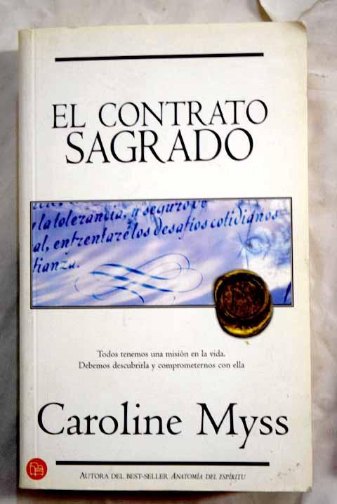 el contrato sagrado caroline myss