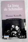 La lista de Schindler / Thomas Keneally