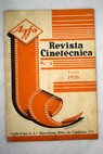 Revista Cineténica Enero 1936