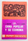 La China popular y su economía