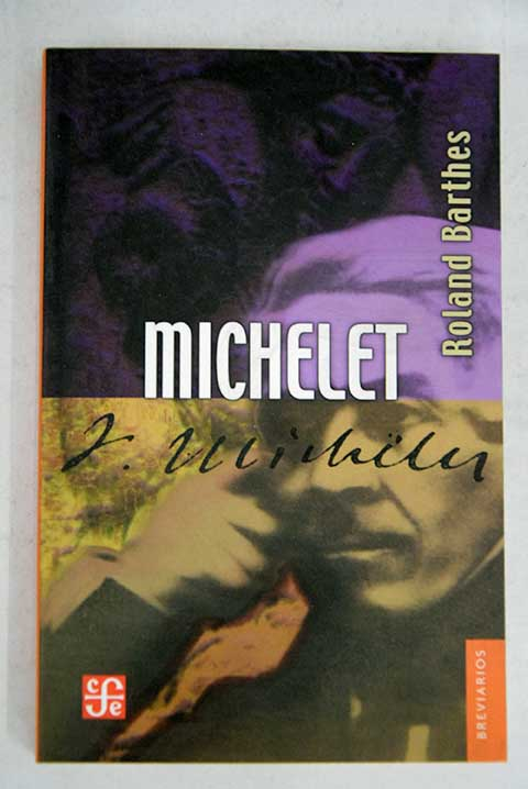 Michelet / Roland Barthes