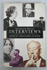 The Penguin Book of Interviews an anthology from 1859 to the present day