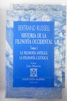 Historia de la filosofía occidental / Bertrand Russell