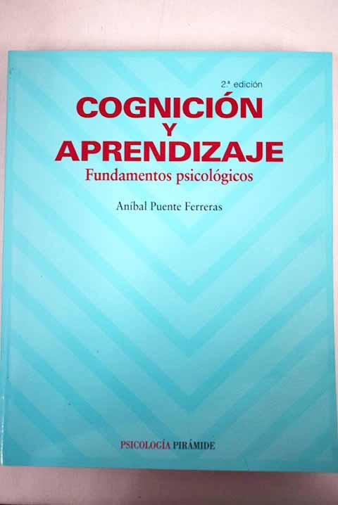 cognicion y aprendizaje anibal puente