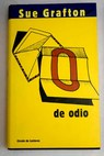 O de odio / Sue Grafton