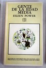 Gente de la Edad Media / Eileen Power