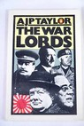 The war lords / A J P Taylor