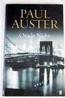 Oracle night / Paul Auster