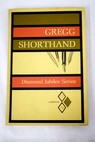 Gregg Shorthand Diamond Jubilee Series