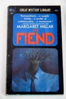 The fiend / Margaret Millar