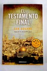 El testamento final / Sam Bourne