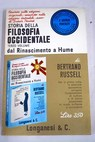Storia della filosofia occidentale volume III
