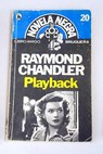 Playback / Raymond Chandler