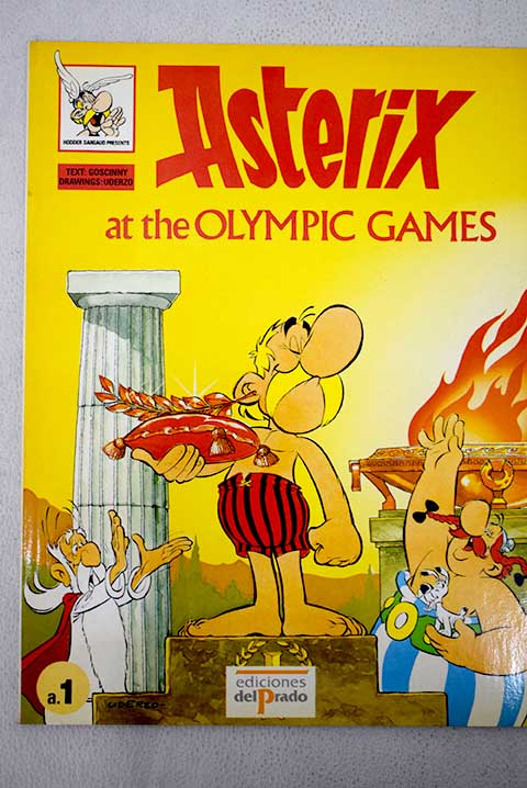 Asterix at the olimpic games / René Goscinny