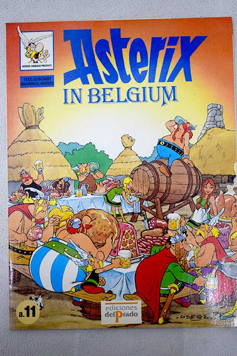 Asterix in Belgium / René Goscinny
