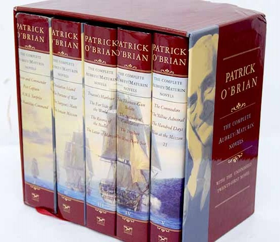 The complete Aubrey Maturin novels / Patrick O Brian