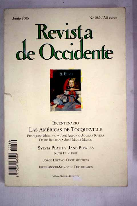 Revista de Occidente número 289