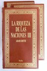 La riqueza de las naciones / Adam Smith