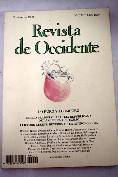 Revista de Occidente número 222