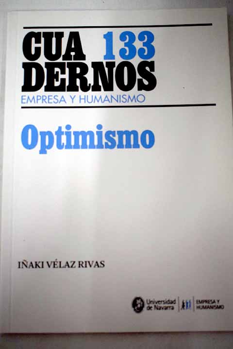 Optimismo / Iñaki Vélaz