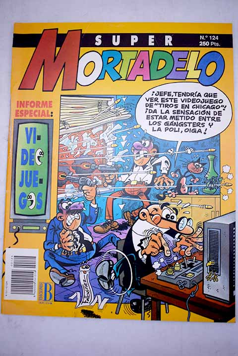 Super Mortadelo número 124