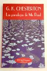 Las paradojas de Mr Pond / G K Chesterton