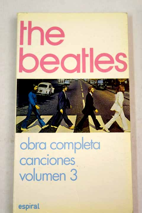 Canciones tomo 3 / The Beatles