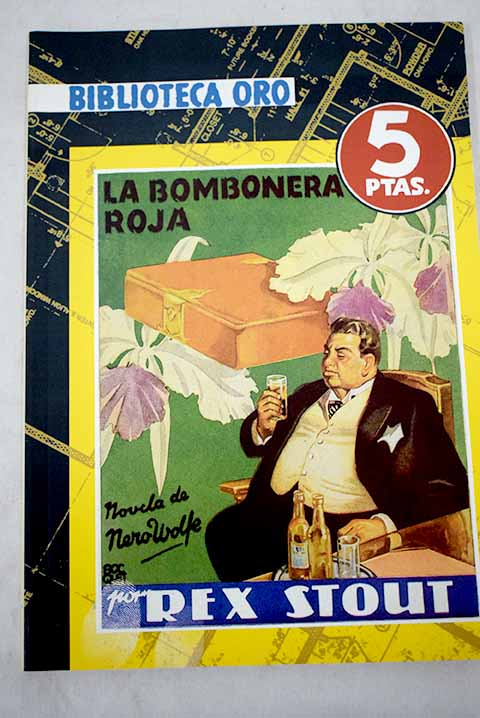 La bombonera roja The red box / Rex Stout