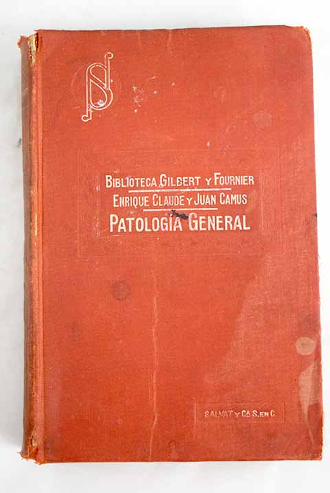 Manual de patología general / Henri Claude
