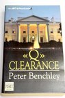 Q Clearance / Peter Benchley