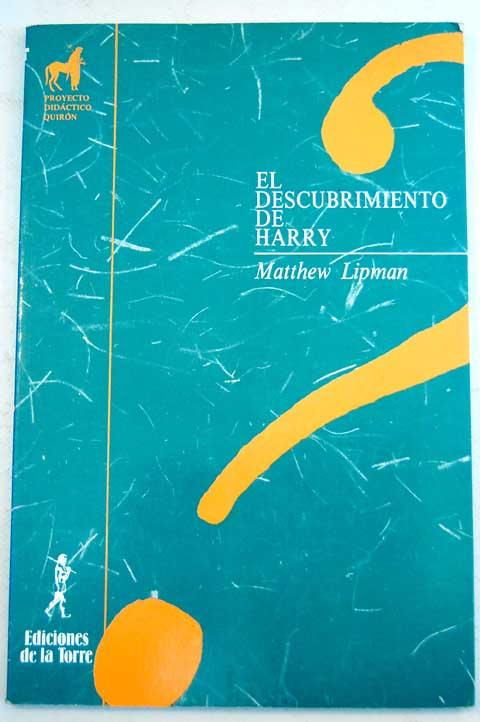 el descubrimiento de harry matthew lipman